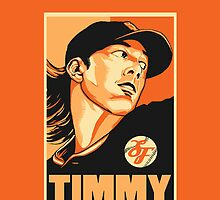 Tim Lincecum: The Freak by kagcaoili