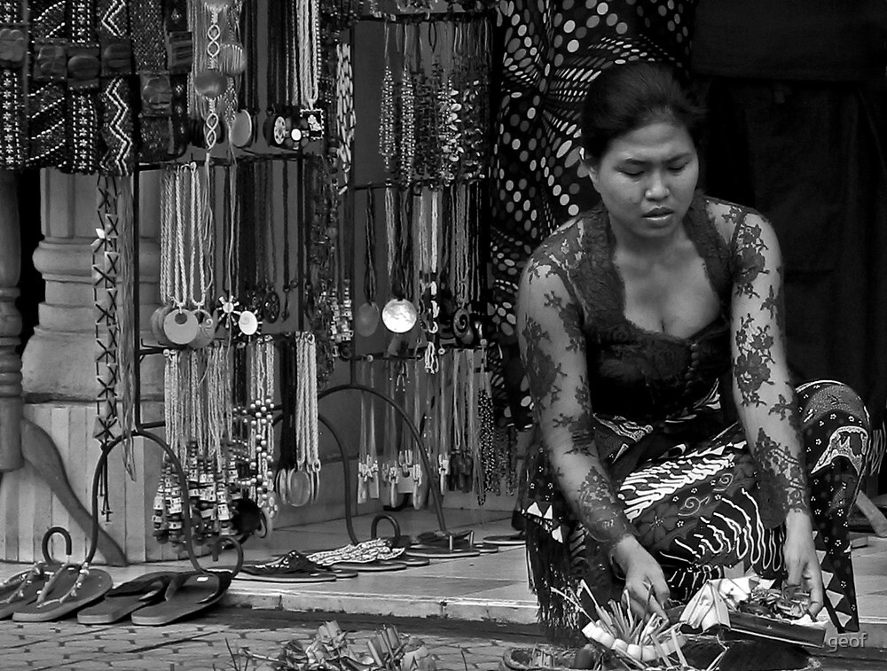 honouring the gods and ancestral spirits. by geof