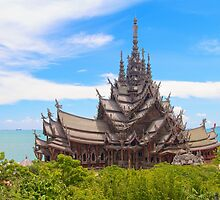 Sanctuary of Truth, Pattaya, Thailand by Marc Maschhoff