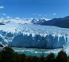 Summer Glacier, Patagonia by stesand