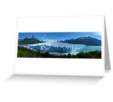 Summer Glacier, Patagonia Greeting Card