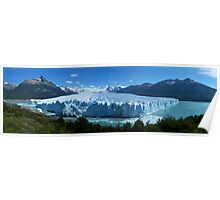 Summer Glacier, Patagonia Poster