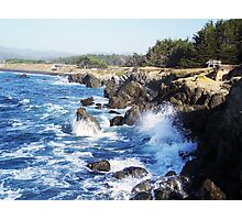 Fort Bragg Coast Line Photographic Print
