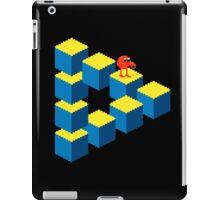 Q*bert - pixel art iPad Case/Skin