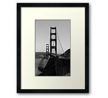 Leaving San Francisco Framed Print