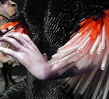 Straws and Hand by HeklaHekla
