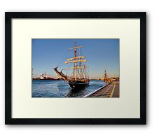 Leeuwin & Endeavour HDR Framed Print