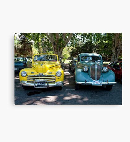 COLLECTOR CARS Canvas Print