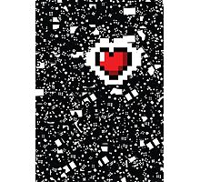 A Gamer's Heart! Photographic Print