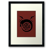 Bloodseal In The Ouroboros! Framed Print
