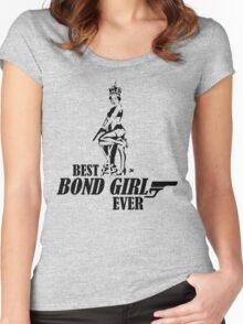 The Queen Elizabeth Best Bond Girl Ever London Olympics 2012 Women's Fitted Scoop T-Shirt