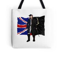 Lietenant McGraw and Captain Flint - Black Sails Tote Bag