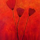 Tall Poppies by Suzanne  Carter