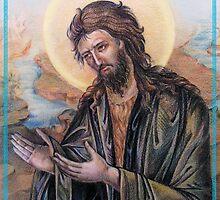 John The Baptist by Natalia Lvova