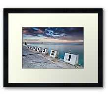 Merewether Ocean Baths - The tenth man Framed Print