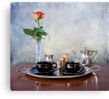 Honeymoon espresso  Canvas Print