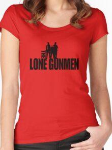 Lone Gunmen Women's Fitted Scoop T-Shirt