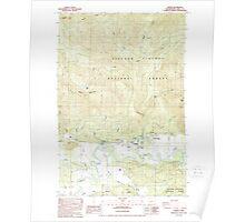 USGS Topo Map Washington State WA Randle 243374 1989 24000 Poster