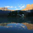 Emerald Lake by Charles Kosina