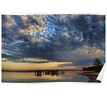 Cloudscapes At Sunrise Poster