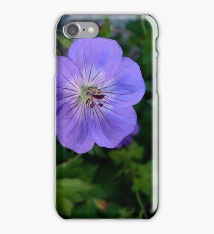 Purple Macro iPhone Case/Skin