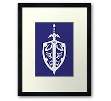 Sword & Shield Framed Print