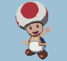 Pixel Toad One Piece - Short Sleeve