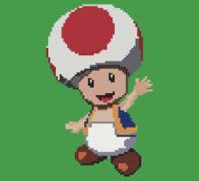 Pixel Toad Kids Tee