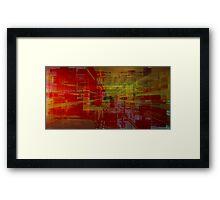 Interchangeable Streaming Version 3 Framed Print