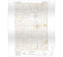 USGS Topo Map Washington State WA Farmington 241126 1964 24000 Poster