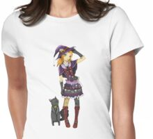 Rosina and Tarragon  Womens Fitted T-Shirt