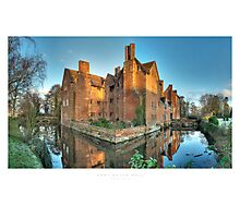 Harvington Hall Photographic Print