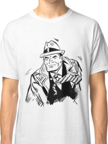 Dick tracy in B/W Classic T-Shirt