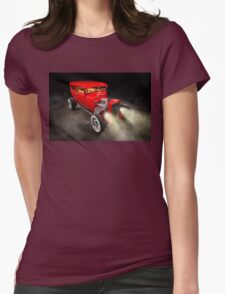 Rick Conway's 1928 Ford Hotrod Womens Fitted T-Shirt