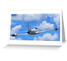 Faux Flight - Shooting Star Greeting Card