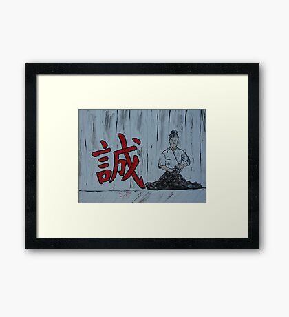 """""""Makato""""  by Carter L. Shepard Framed Print"""