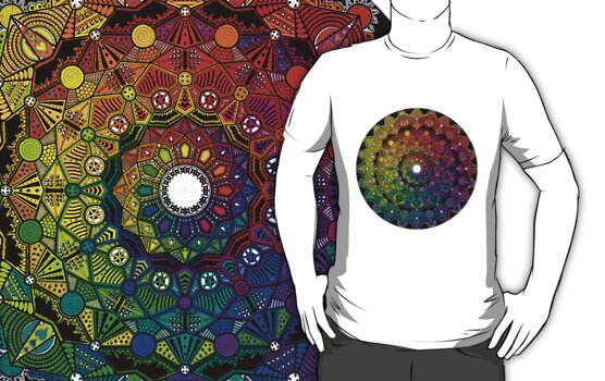 Mandala 46 T-Shirts, Hoodies and Stickers and cases - Jim Gogarty by mandala-jim