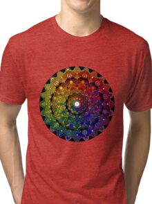 Mandala 46 T-Shirts, Hoodies and Stickers and cases - Jim Gogarty Tri-blend T-Shirt