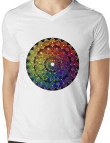 Mandala 46 T-Shirts, Hoodies and Stickers and cases - Jim Gogarty Mens V-Neck T-Shirt