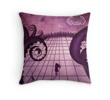 Crossing The Great Beyond Throw Pillow