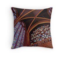 St Chapelle Splendour Throw Pillow