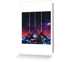 Giza-Orion Alignment  Greeting Card