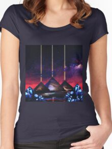 Giza-Orion Alignment  Women's Fitted Scoop T-Shirt