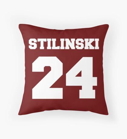 Stiles Stilinski #24 Throw Pillow