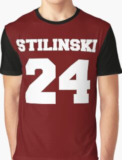 Stiles Stilinski #24 Graphic T-Shirt