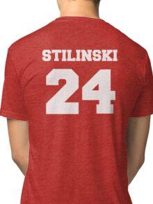 Stiles Stilinski #24 Tri-blend T-Shirt