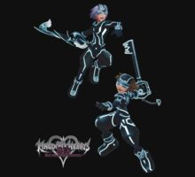 Kingdom Hearts: Dream Drop Distance The Grid version Sora & Riku Baby Tee
