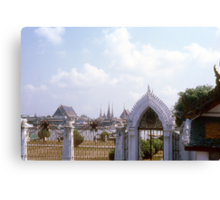 1963-1964 Bangkok, Singapore, Hong Kong, Darjeeling, Benares, Beirut, Athens, Zermatt, Monte Carlo, Lyautey, Ajaceio Canvas Print
