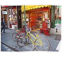 Greenwich Village bikes  Poster