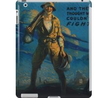 And they thought we couldnt fight Victory Liberty Loan iPad Case/Skin